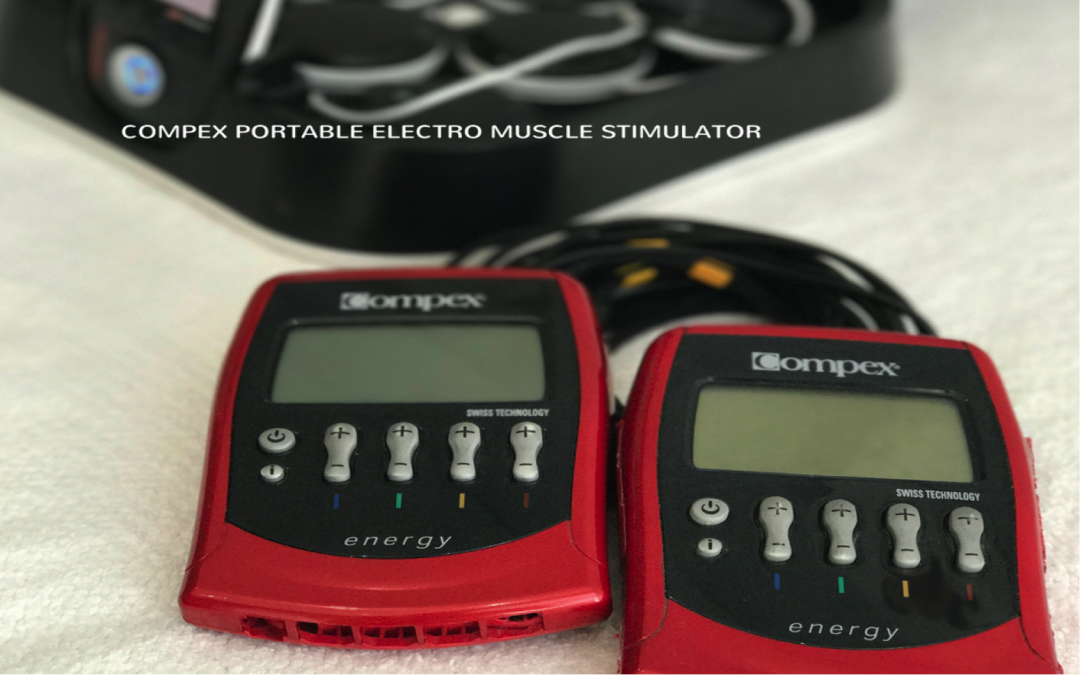 Why I use Compex Muscle Electrostimulation in my training sessions as a biokineticist