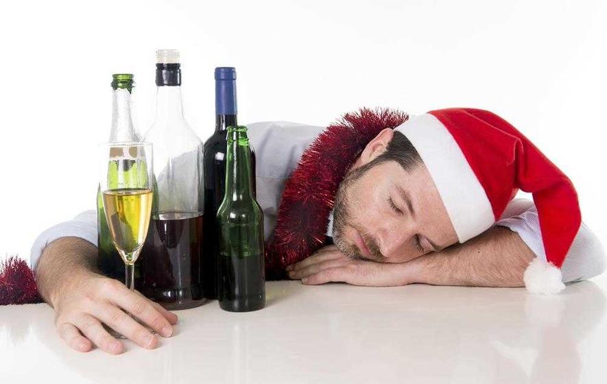 Christmas overindulgence