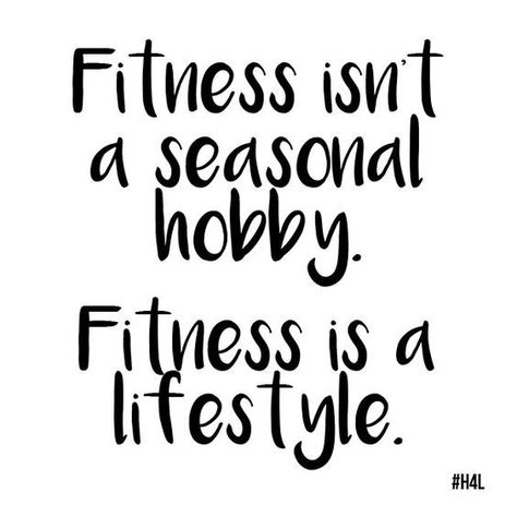 Getting fit is a lifestyle choice